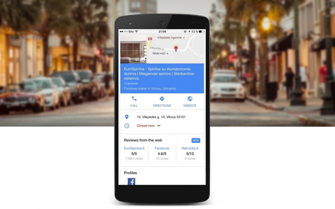Naujiena Google paieškoje – atsiliepimai ir įvertinimai